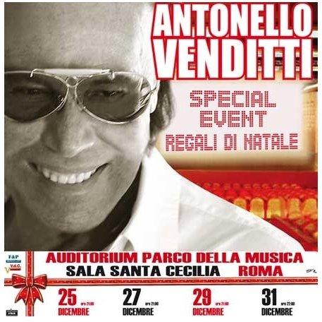 Antonello Venditti Regali Di Natale.Antonello Venditti Regali Di Natale A Roma Rts 80s Com Music News